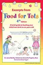 Excerpts from Food for Tots English Front Cover